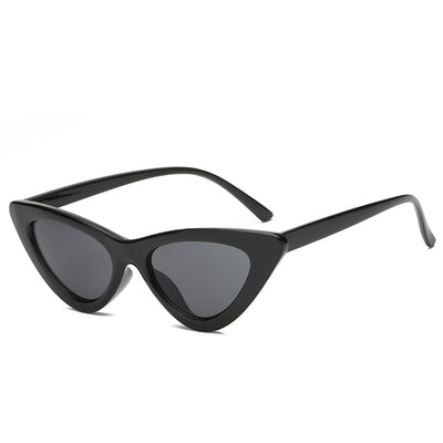 Women Fashion Cat Eye Sunglasses Black frame Black - Women Sunglasses | MegaMallExpress.com