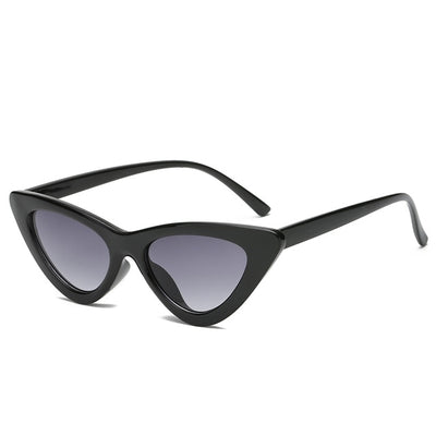 Women Fashion Cat Eye Sunglasses Black frame Gray - Women Sunglasses | MegaMallExpress.com