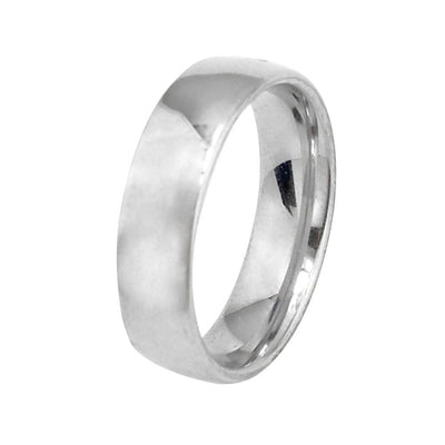 Comfort Stainless Steel Ring 12 / Steel color - Formal Rings | MegaMallExpress.com