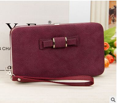 Women's Coin and Cards Purse Purple Dark / Small - Women Wallets | MegaMallExpress.com