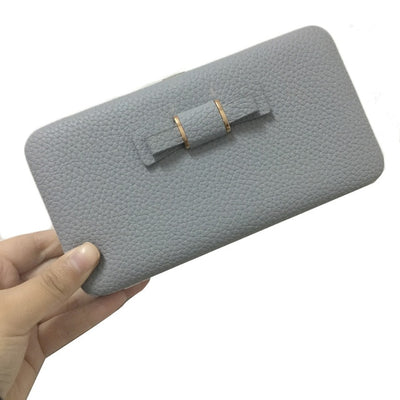 Women's Coin and Cards Purse Light Gray / Small - Women Wallets | MegaMallExpress.com