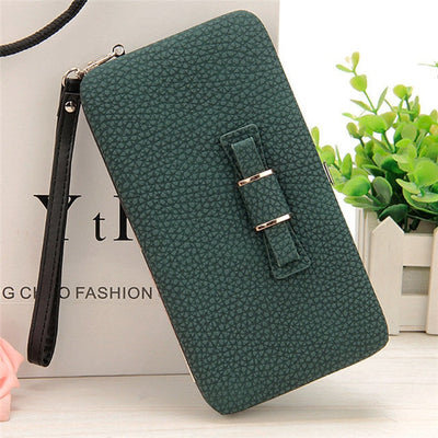 Women's Coin and Cards Purse Green / Small - Women Wallets | MegaMallExpress.com