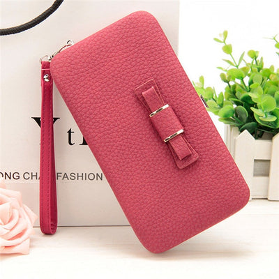 Women's Coin and Cards Purse Red / Small - Women Wallets | MegaMallExpress.com