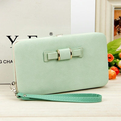 Women's Coin and Cards Purse Light Green / Small - Women Wallets | MegaMallExpress.com
