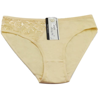 Women Sexy Cotton Panties Khaki / XL - Women Intimates | MegaMallExpress.com