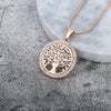 Tree of Life Crystal Jewelry Pendant  - Necklaces & Pendants | MegaMallExpress.com