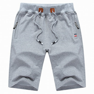 Men's Casual Shorts Light Grey / XXXL - Men Bottoms | MegaMallExpress.com