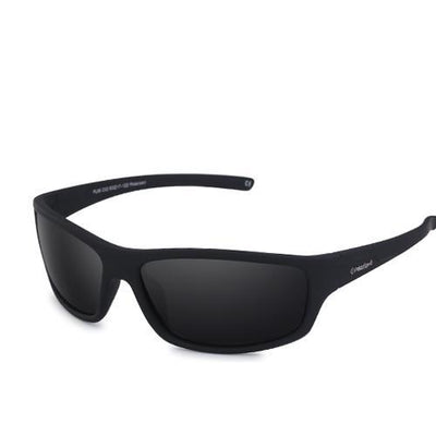 Sports Men's Polarized Sunglasses C02 Matte Black Smok - Men Sunglasses | MegaMallExpress.com