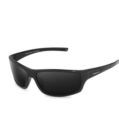 Sports Men's Polarized Sunglasses C04 Black Smoke - Men Sunglasses | MegaMallExpress.com