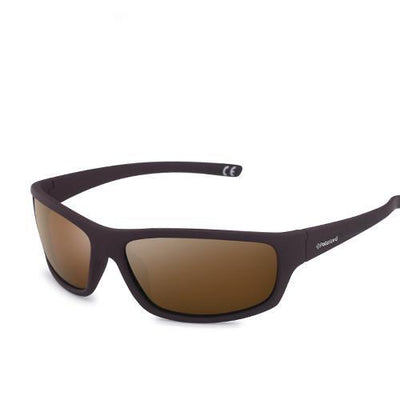 Sports Men's Polarized Sunglasses C03 Brown Brown - Men Sunglasses | MegaMallExpress.com