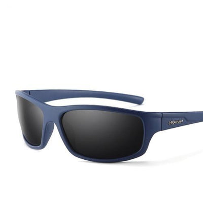 Sports Men's Polarized Sunglasses C05 DarkBlue Smoke - Men Sunglasses | MegaMallExpress.com