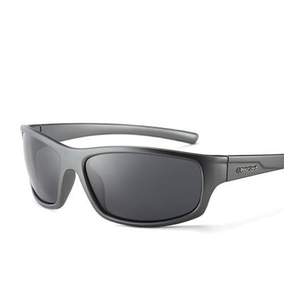 Sports Men's Polarized Sunglasses C06 Gray Smoke - Men Sunglasses | MegaMallExpress.com