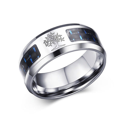 Alliance Ring 12 / Life Tree / Silver - Formal Rings | MegaMallExpress.com