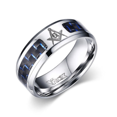 Alliance Ring 12 / Masonic / Silver - Formal Rings | MegaMallExpress.com