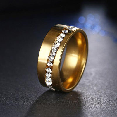 Stainless Steel Fashion Ring 6 / Silver - Formal Rings | MegaMallExpress.com