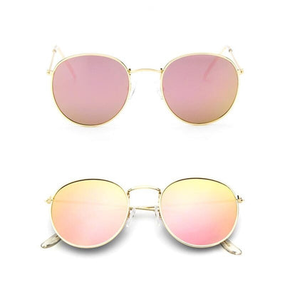 Women Classic Round Sunglasses Pink - Women Sunglasses | MegaMallExpress.com