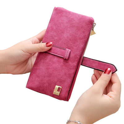 Women Long Card Holder Clutch  - Women Wallets | MegaMallExpress.com