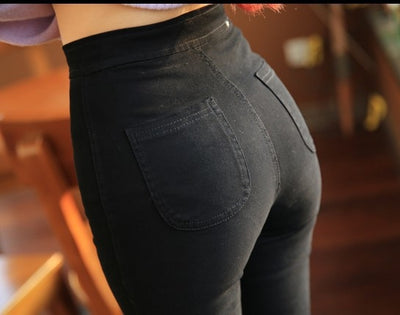 Women High Waist Jeans  - Women Bottoms | MegaMallExpress.com