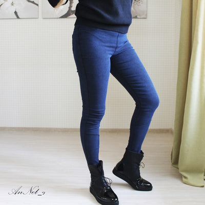 Women Denim Leggings  - Women Bottoms | MegaMallExpress.com