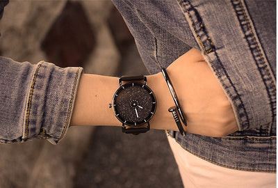 Women Leather Strap Wristwatch  - Women Watches | MegaMallExpress.com