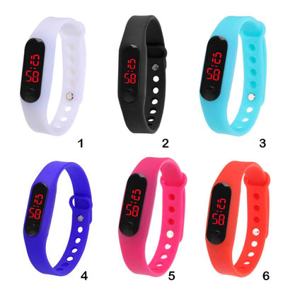Unisex Digital Display Sports Watch  - Women Watches | MegaMallExpress.com