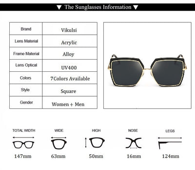 Women Oversized Cat Eye Shades  - Women Sunglasses | MegaMallExpress.com