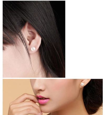 Women Natural Pearl Earrings  - Fine Jewelry | MegaMallExpress.com