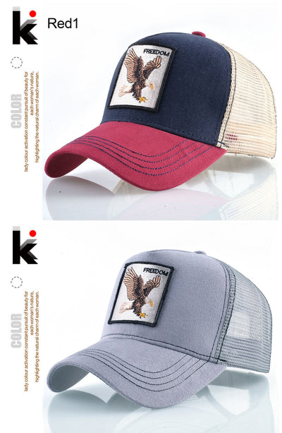 Animal Embroidered Baseball Caps  - Men Hats & Caps | MegaMallExpress.com