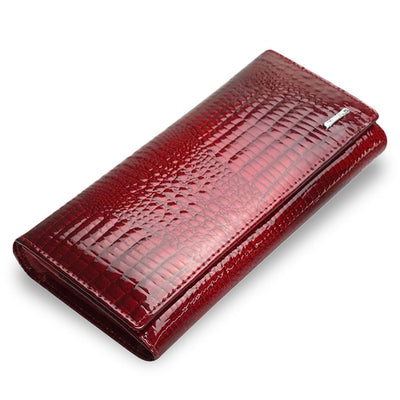 Red Leather Wallet For Women Red - Women Wallets | MegaMallExpress.com