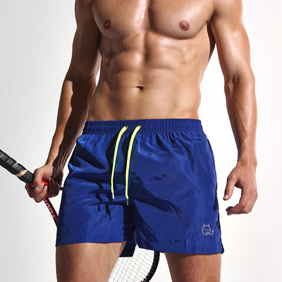 Men's Swim Shorts New Blue / XXL - Men Bottoms | MegaMallExpress.com