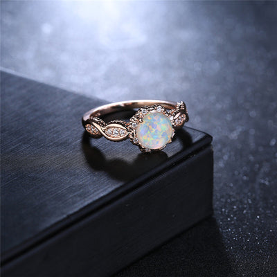 Rainbow Opal Ring  - Formal Rings | MegaMallExpress.com