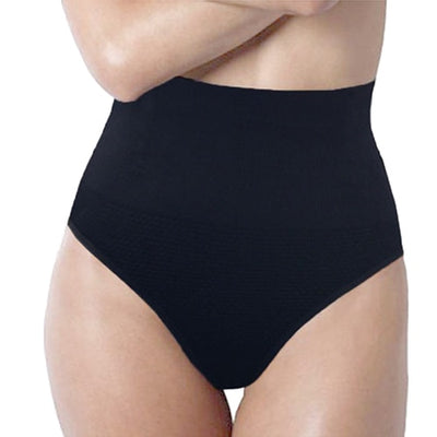 High Waist Tummy Control Body Shaper Black / XXXL - Women Shapewear | MegaMallExpress.com