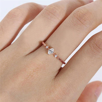 Three Stone Engagement Ring  - Wedding & Engagement | MegaMallExpress.com