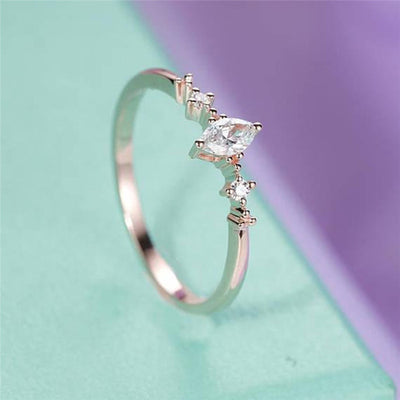Three Stone Engagement Ring 9 / 1 - Wedding & Engagement | MegaMallExpress.com