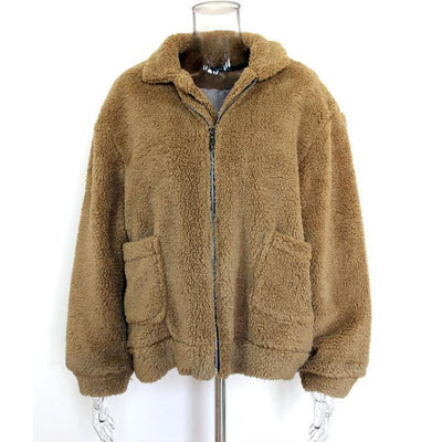 Women Fluffy Short Coat  - Women Jackets & Coats | MegaMallExpress.com