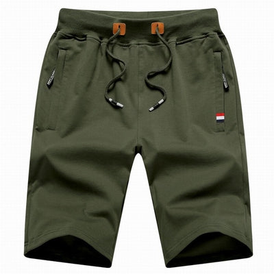 Men's Casual Shorts Green / XXXL - Men Bottoms | MegaMallExpress.com