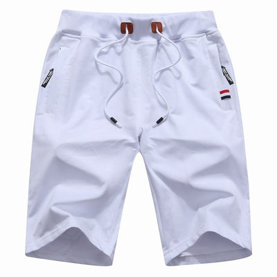 Men's Casual Shorts White / XXXL - Men Bottoms | MegaMallExpress.com
