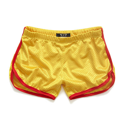 Men's Swim Shorts Yellow / XXL - Men Bottoms | MegaMallExpress.com