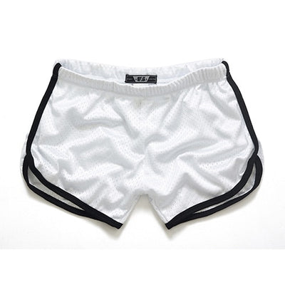 Men's Swim Shorts White 1 / XXL - Men Bottoms | MegaMallExpress.com