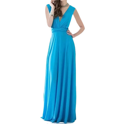 Women Halter Top Bridesmaid Long Dress sexy women dress / XL - Women Dresses | MegaMallExpress.com