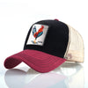 Animal Embroidered Baseball Caps Red2 Cock / 56-60cm - Men Hats & Caps | MegaMallExpress.com