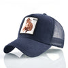 Animal Embroidered Baseball Caps Blue Fox / 56-60cm - Men Hats & Caps | MegaMallExpress.com
