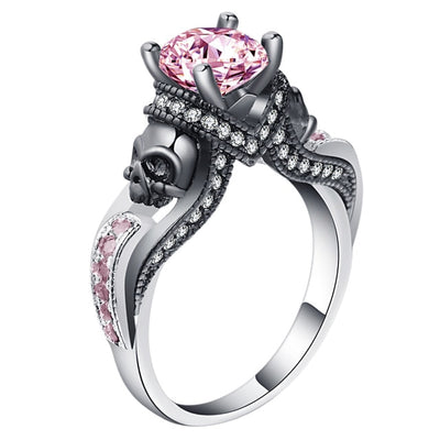 Skull Jewelry Ring 9 / Pink - Casual Rings | MegaMallExpress.com
