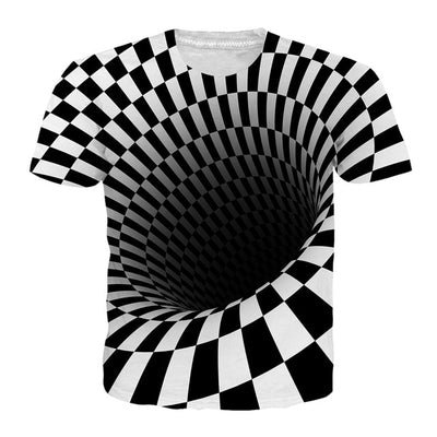 Vertigo T-shirts Black Domino/White / XXL - Men Tops & Tees | MegaMallExpress.com