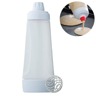 4.5 Cups Mixer Bottle Batter Dispenser For Pancakes, Waffles & Crepes  - Trending Products | MegaMallExpress.com