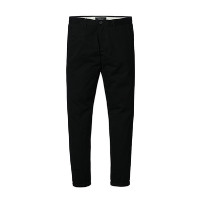 Slim Fit Chinos black 5th / 30 - Men Bottoms | MegaMallExpress.com
