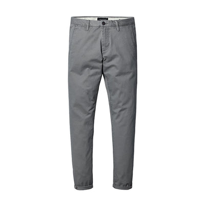 Slim Fit Chinos khaki gray 5th / 30 - Men Bottoms | MegaMallExpress.com