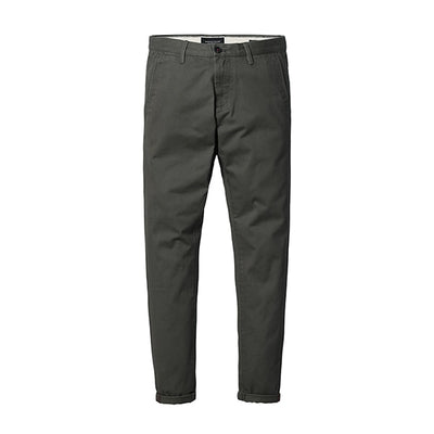 Slim Fit Chinos army green 5th / 30 - Men Bottoms | MegaMallExpress.com