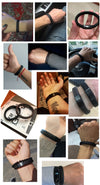 Braided Leather Bracelet  - Bracelets & Bangles | MegaMallExpress.com