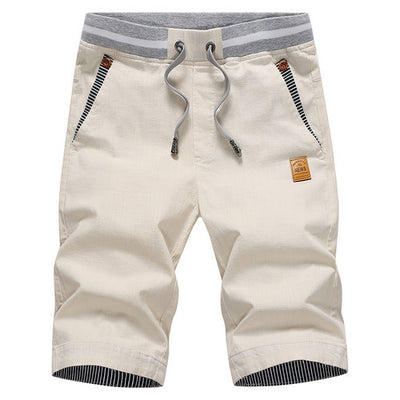 2019 Men's Casual Shorts Beige / XXXL - Men Bottoms | MegaMallExpress.com